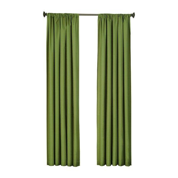Thermal Blackout Rod Pocket Curtain Panel Joss Main