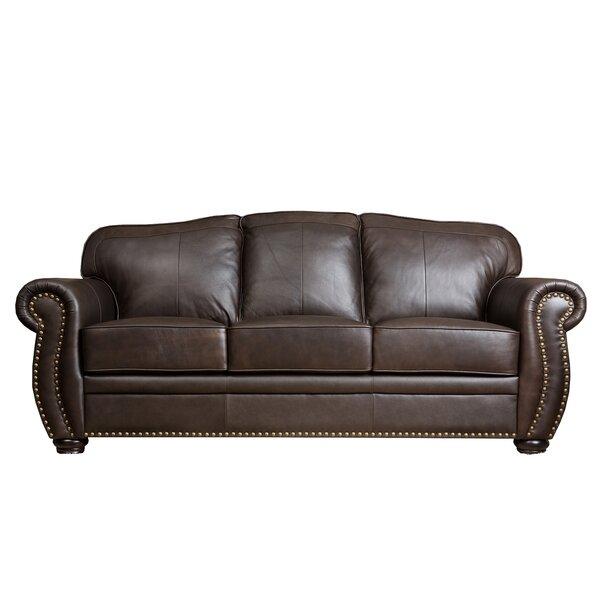 Patterson 84 Leather Sofa Joss Main