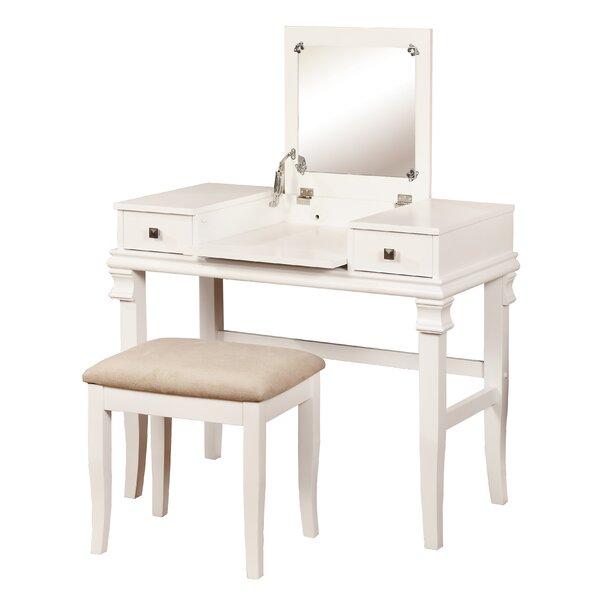 2 piece colleen vanity amp stool set joss amp main