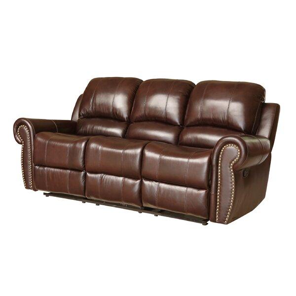 Aidy 84 Leather Reclining Sofa Joss Main