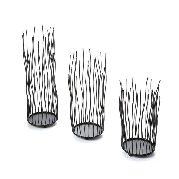 3-Piece Alva Candleholder Set | Joss & Main