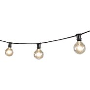 15-Light 25 ft. Globe String Lights