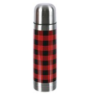 Woodland River Stainless Steel Buffalo Plaid Thermos