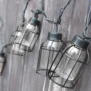 10-Light 7.5 ft. Lantern String Lights