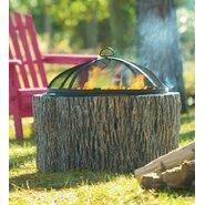 Cast Stone/ Fiberglass Fire Pit