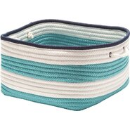 Nautical Stripe Rectangle Basket