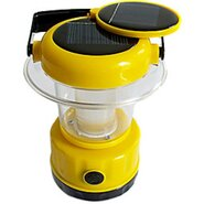 Solar Powered Bright 9 LED Emergency Portable Lantern