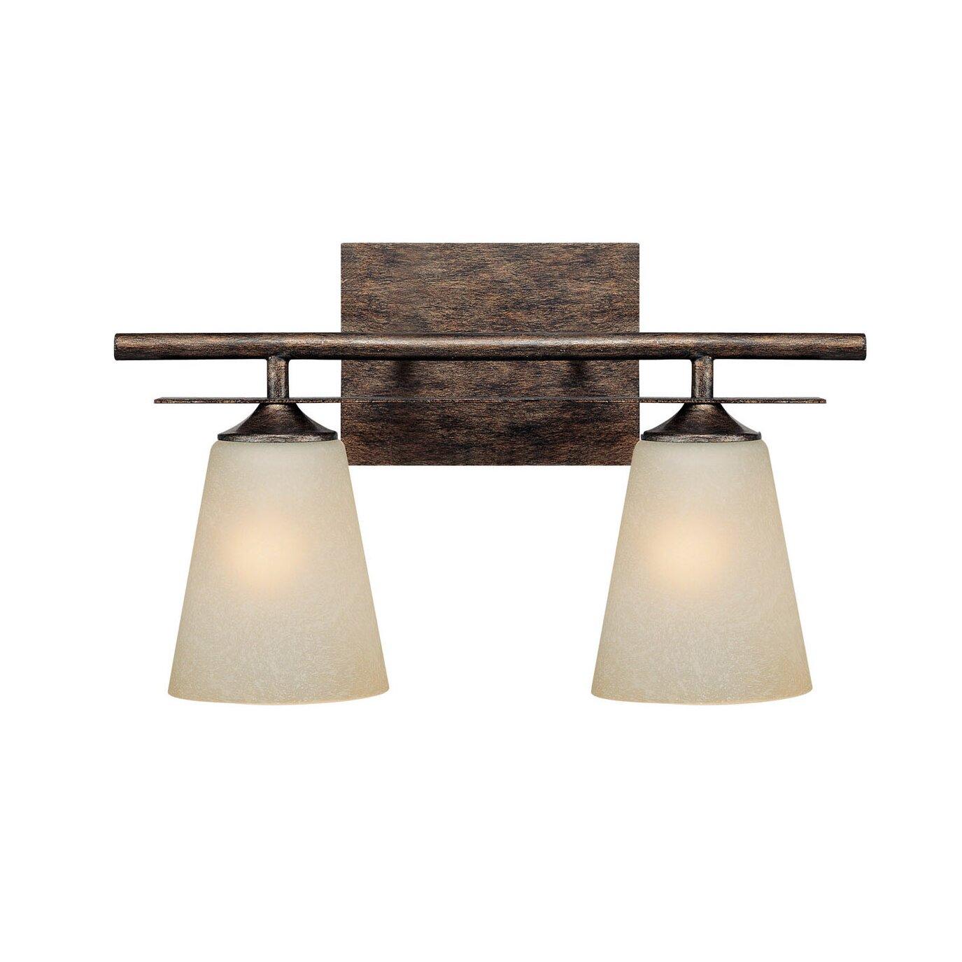 Capital Lighting Soho 2 Light Bath Vanity Light Reviews Wayfair