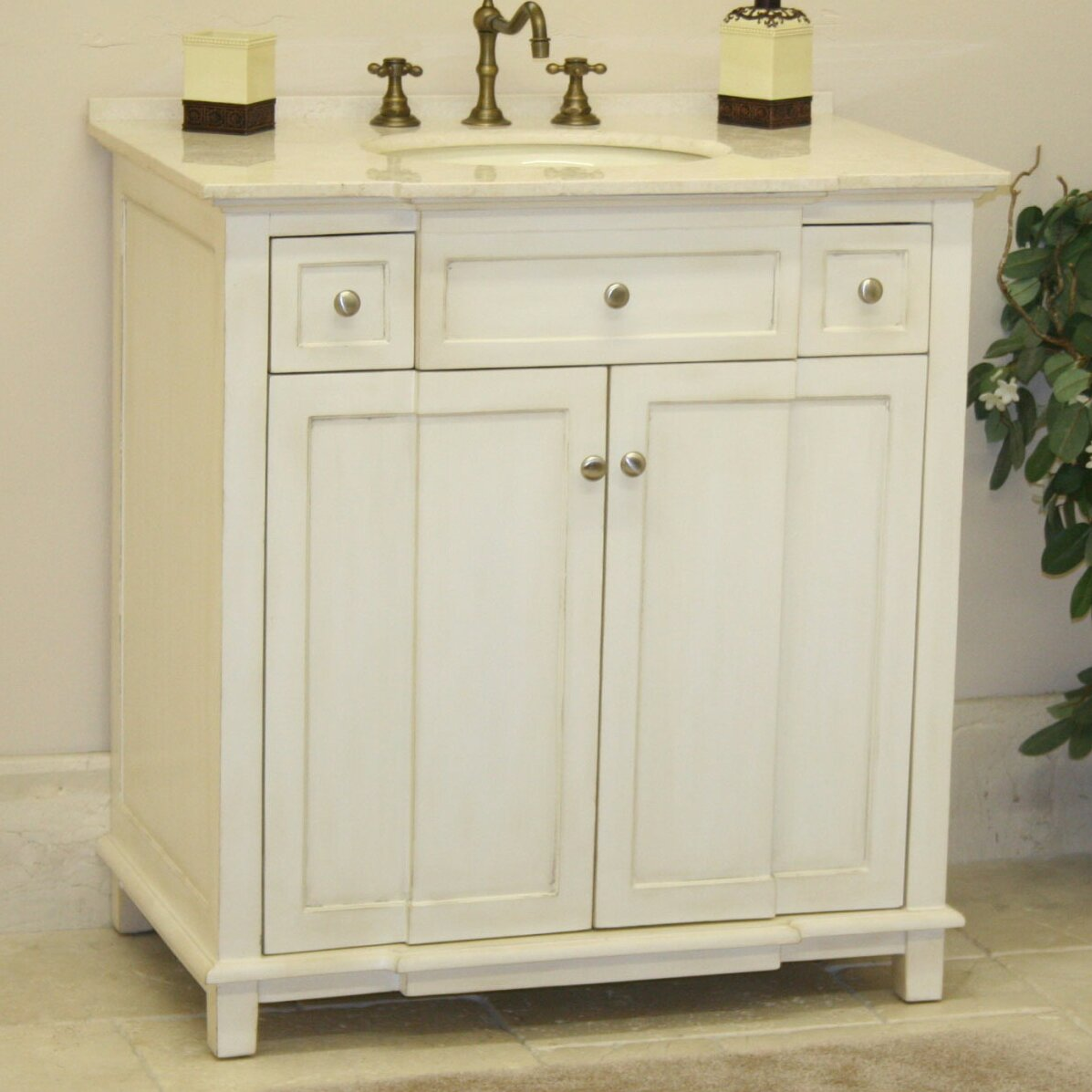 brighton 34 single bathroom vanity set wayfair