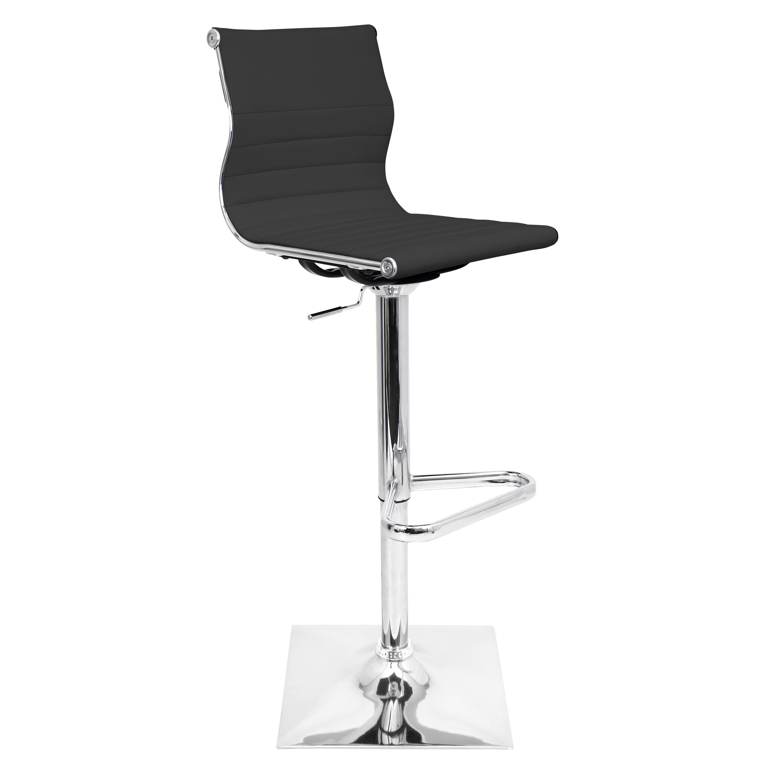 Master Adjustable Height Swivel Bar Stool Wayfair