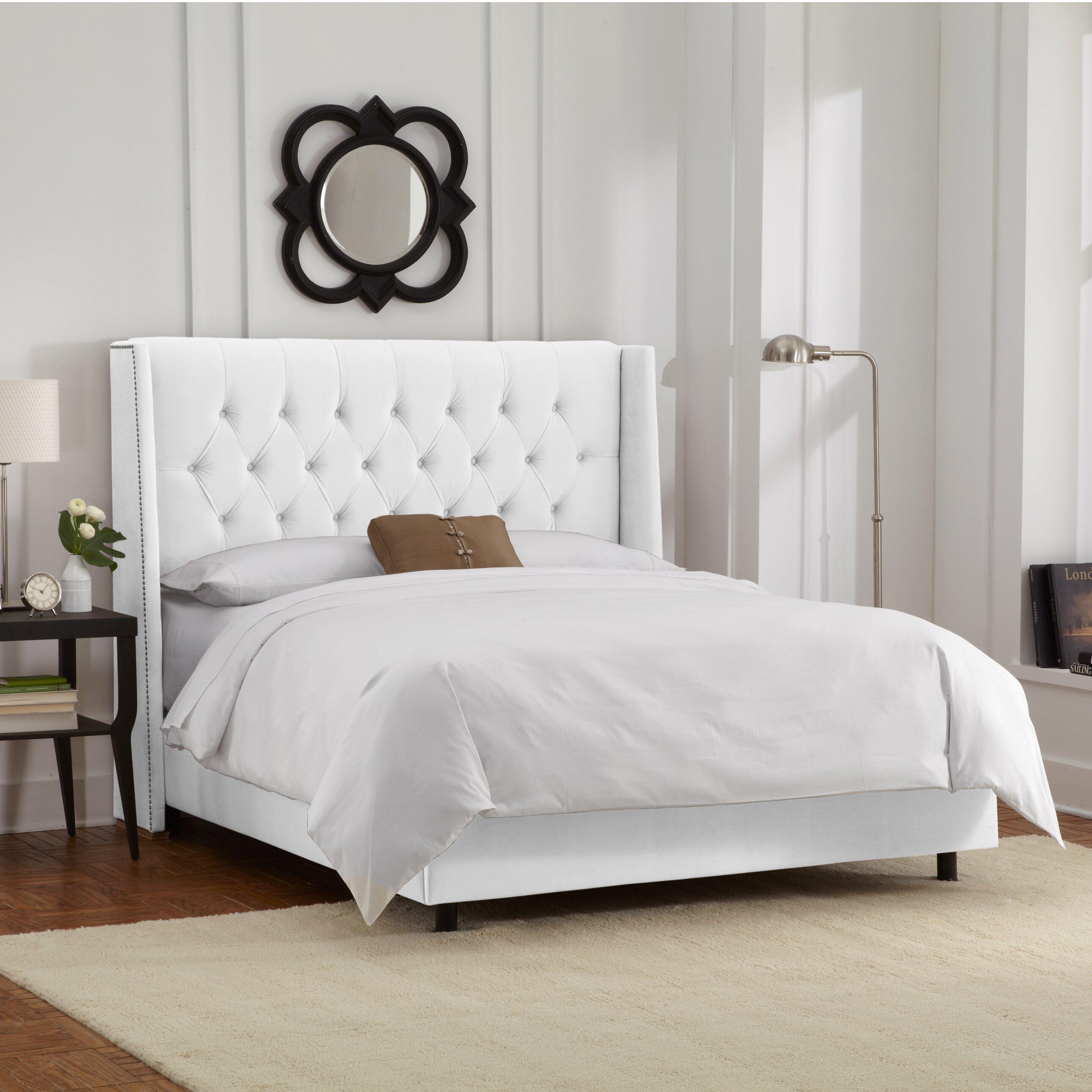 Skyline Furniture Upholstered Panel Bed Amp Reviews Wayfair