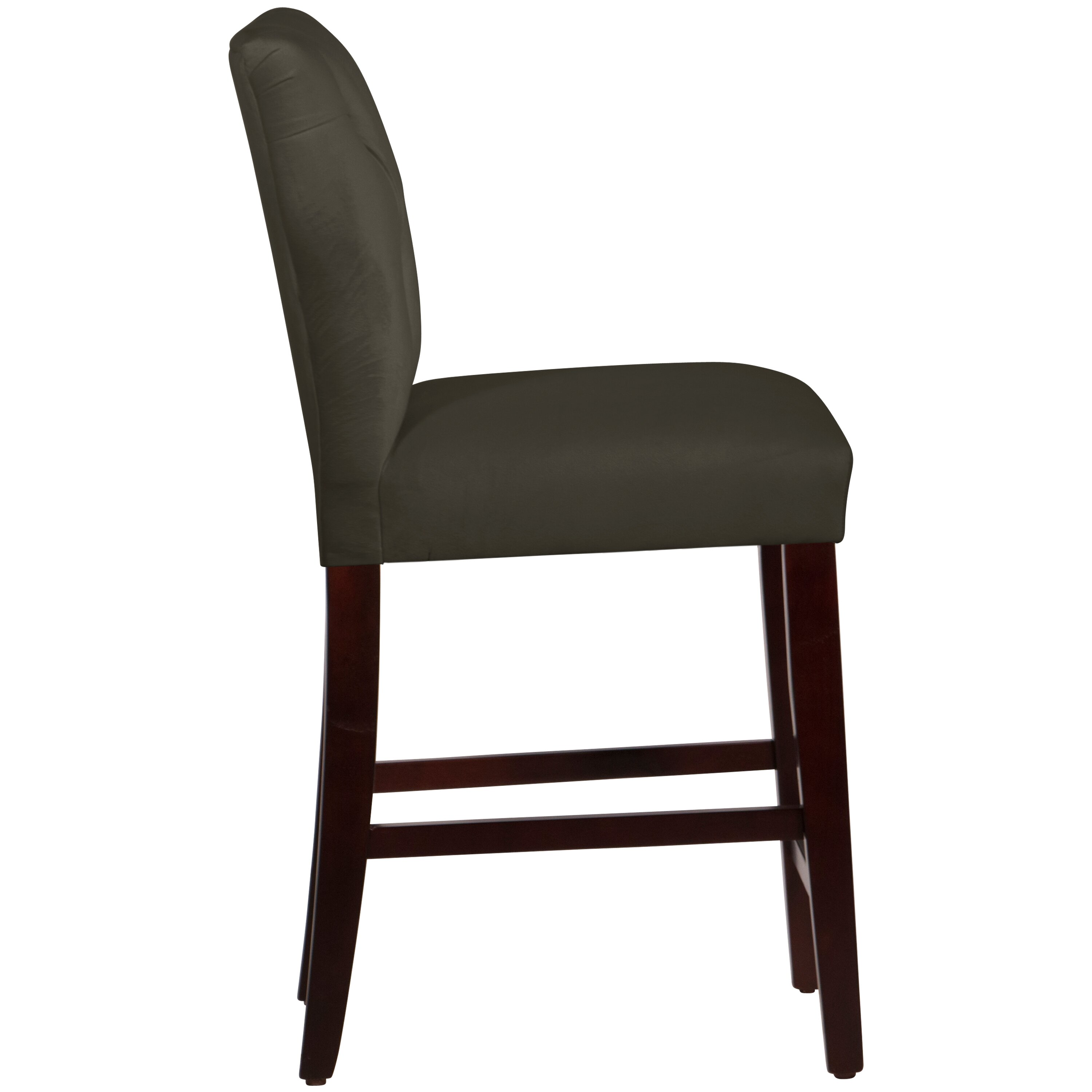 Skyline Furniture 26quot Bar Stool amp Reviews Wayfair : Velvet Tufted Hourglass Bar Stool 65 7ESPVLV from www.wayfair.com size 3000 x 3000 jpeg 353kB