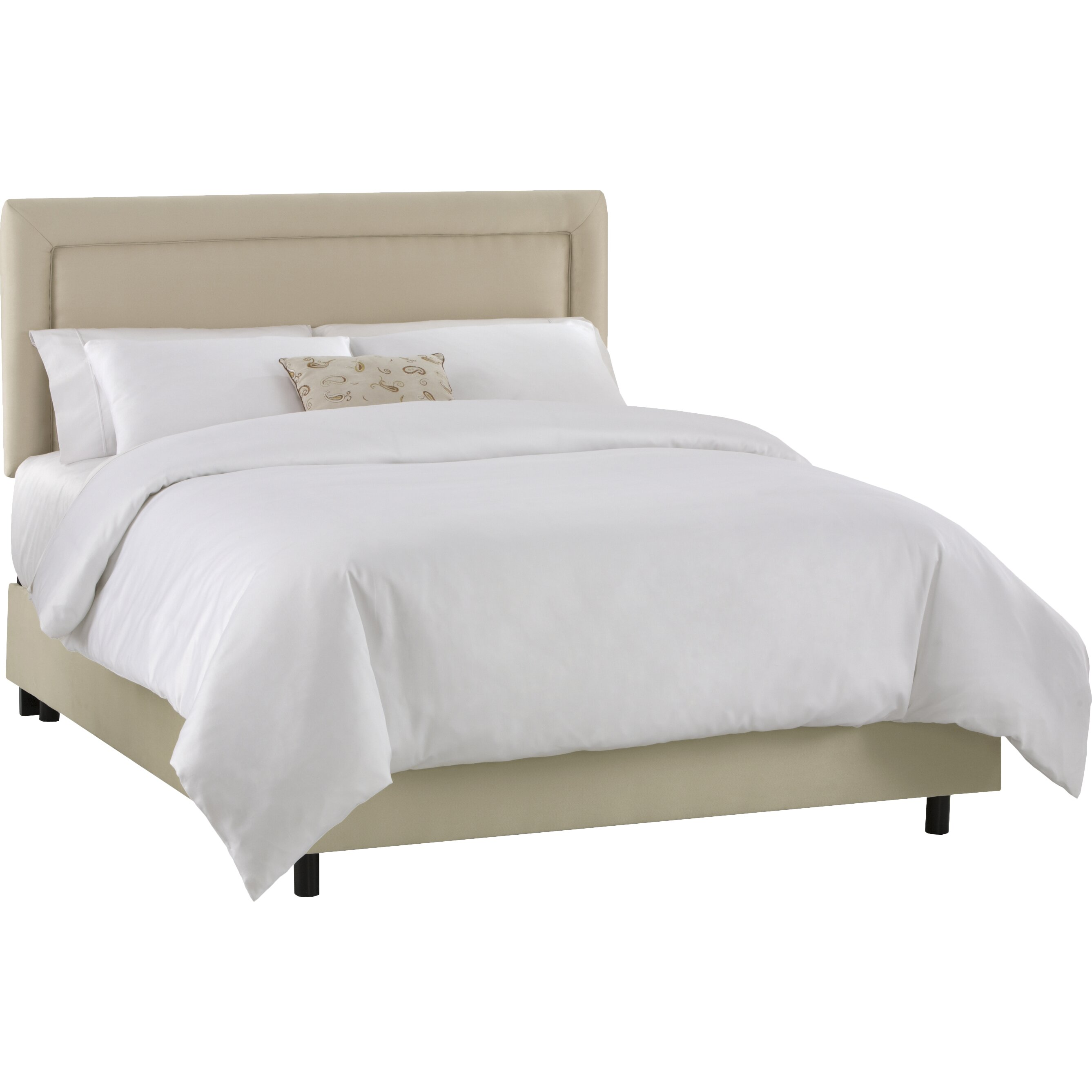 Warefair Com: Skyline Furniture Border Upholstered Headboard & Reviews
