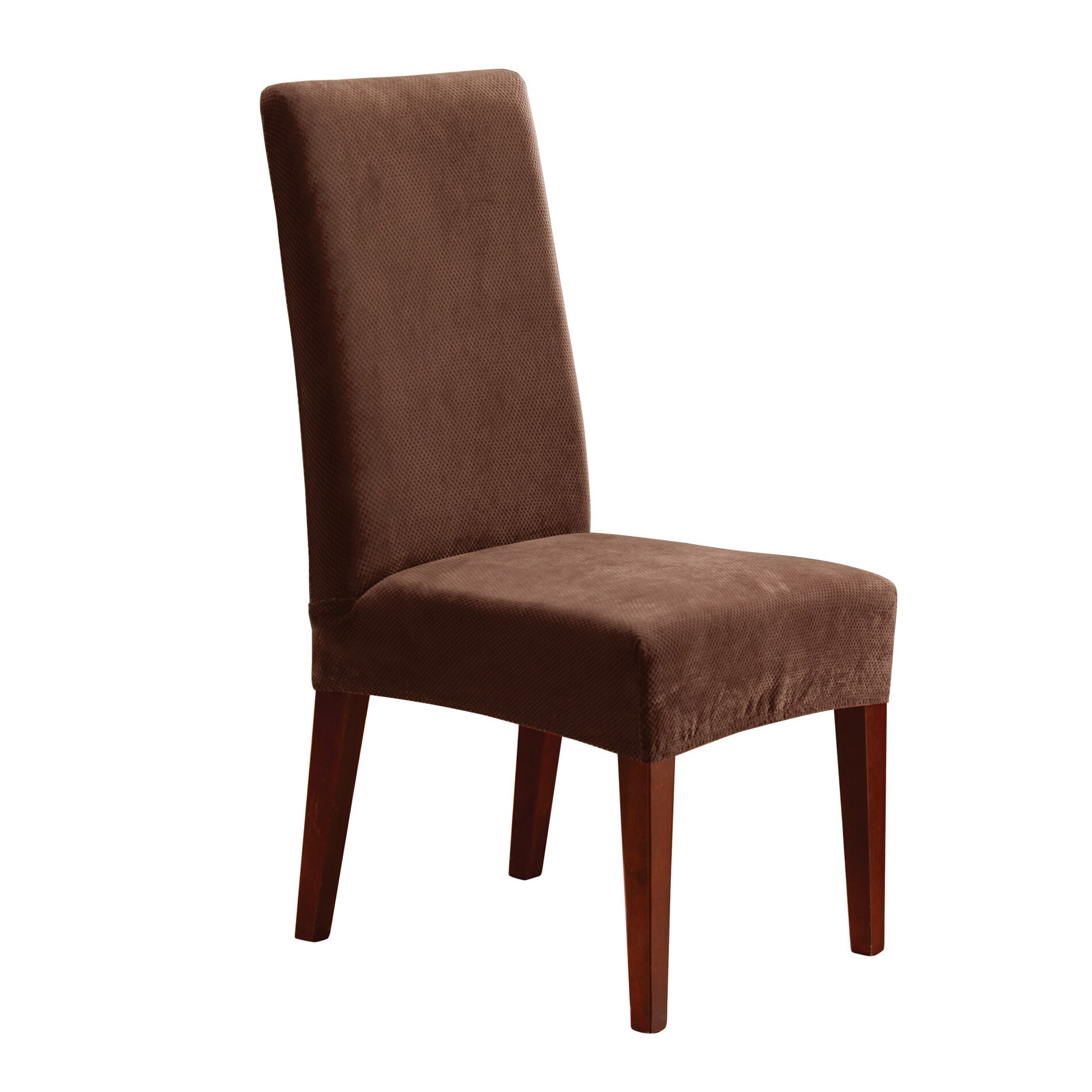 Subrtex Stretch Dining Room Chair Slipcovers4 Milky Knit