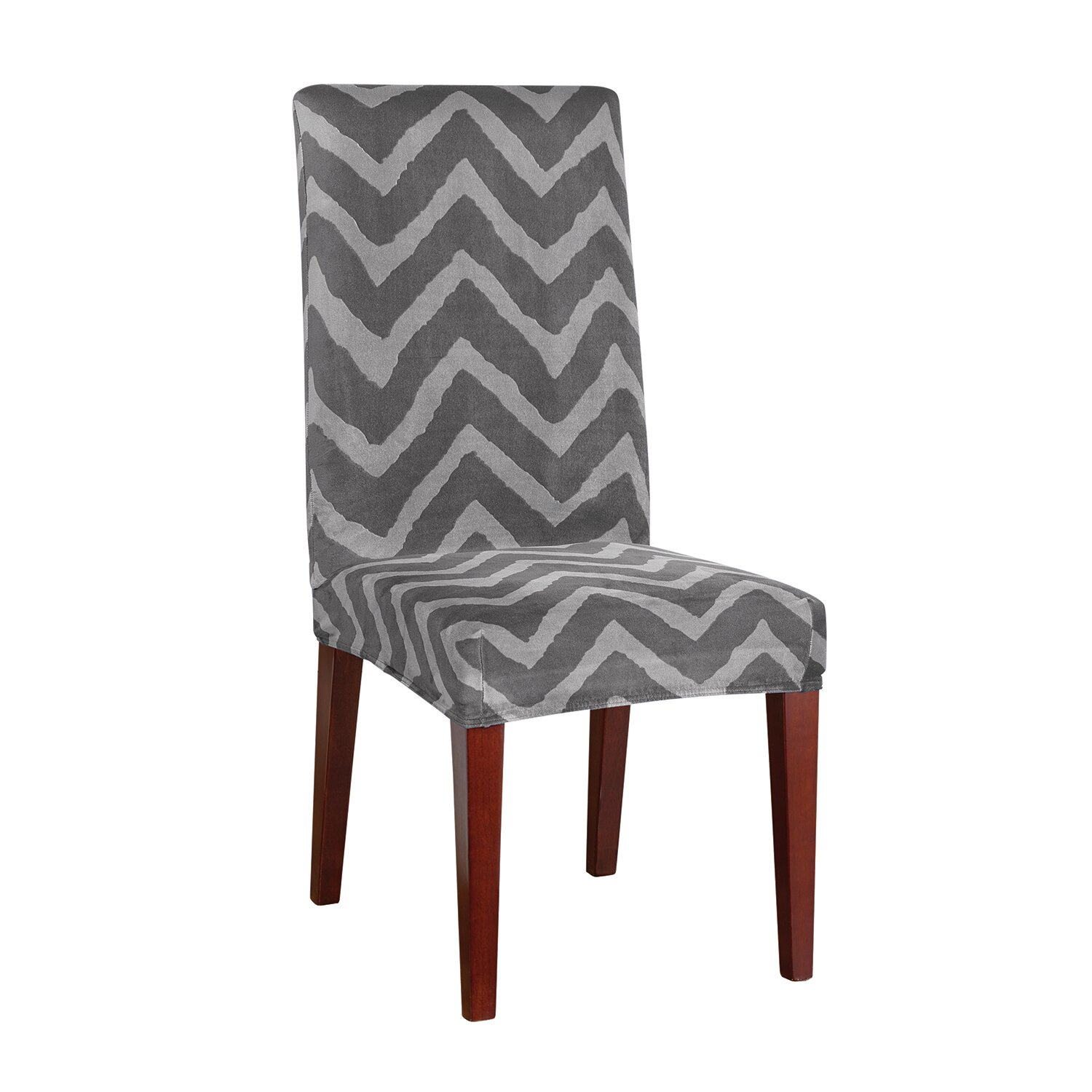 Sure Fit Stretch Chevron Dining Chair Slipcover amp Reviews  : Sure Fit Knit Dining Shorty Room Chair Cover 0472934468 from www.wayfair.com size 1500 x 1500 jpeg 202kB