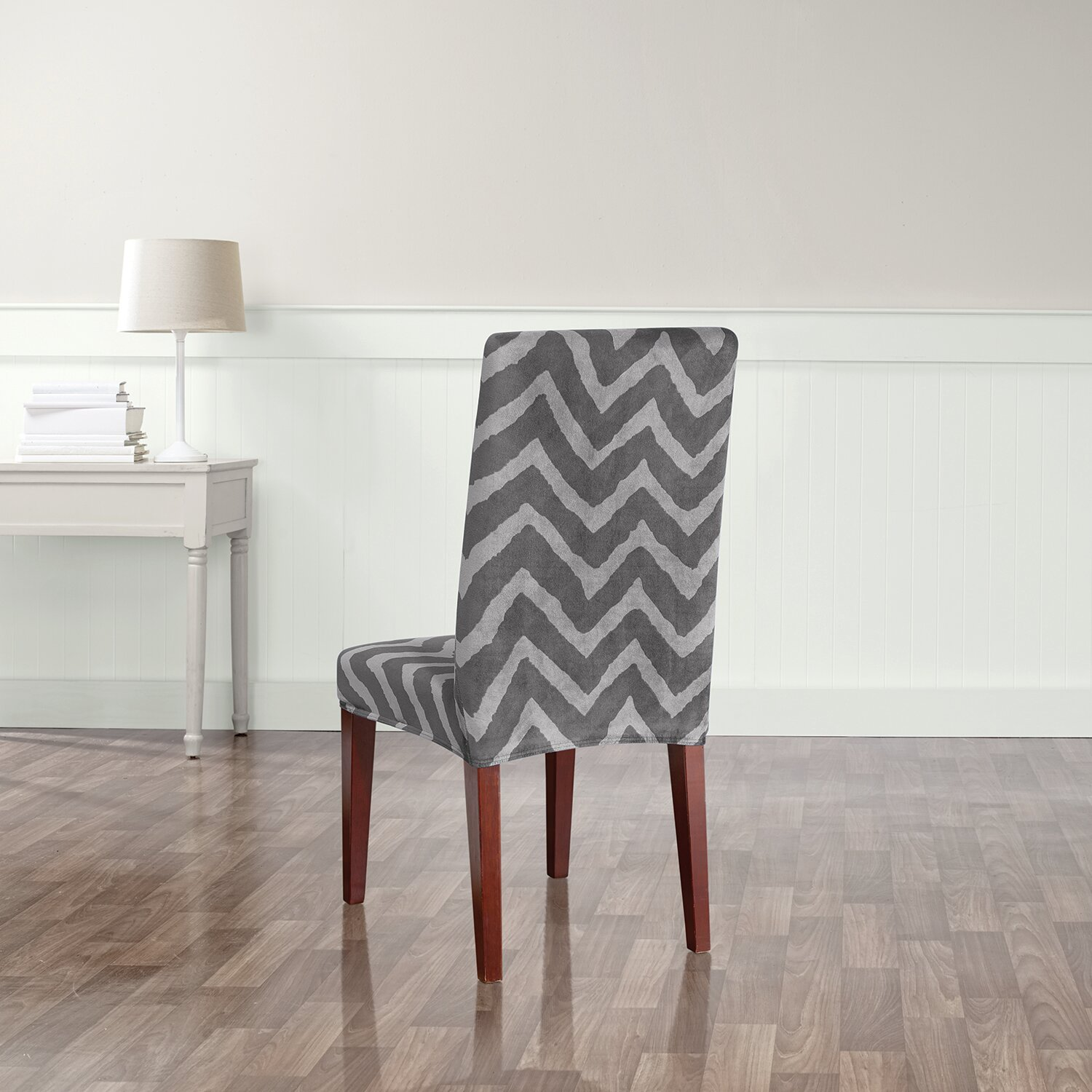 Sure Fit Stretch Chevron Dining Chair Slipcover & Reviews