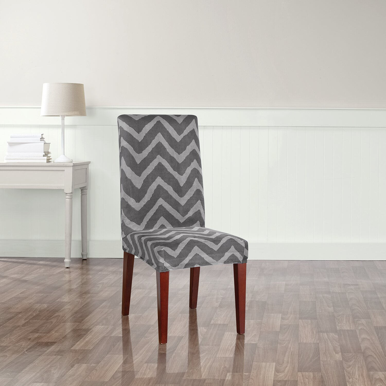 Emejing Sure Fit Stretch Pique Shorty Dining Room Chair Slipcover