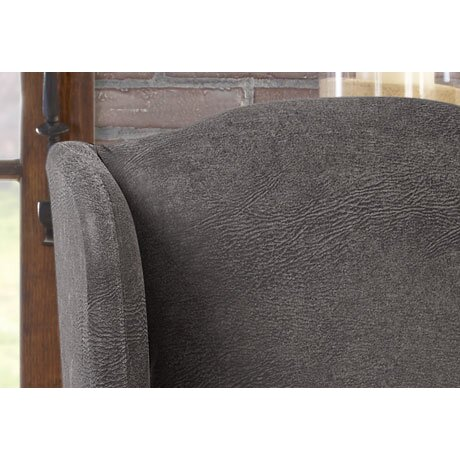Sure Fit Ultimate Stretch Faux Leather Wing Arm Chair