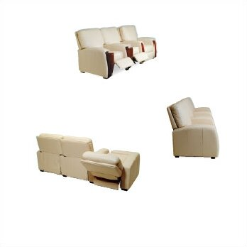 Celebrity Home Theater Seating (Row of 5) by Bass Online.