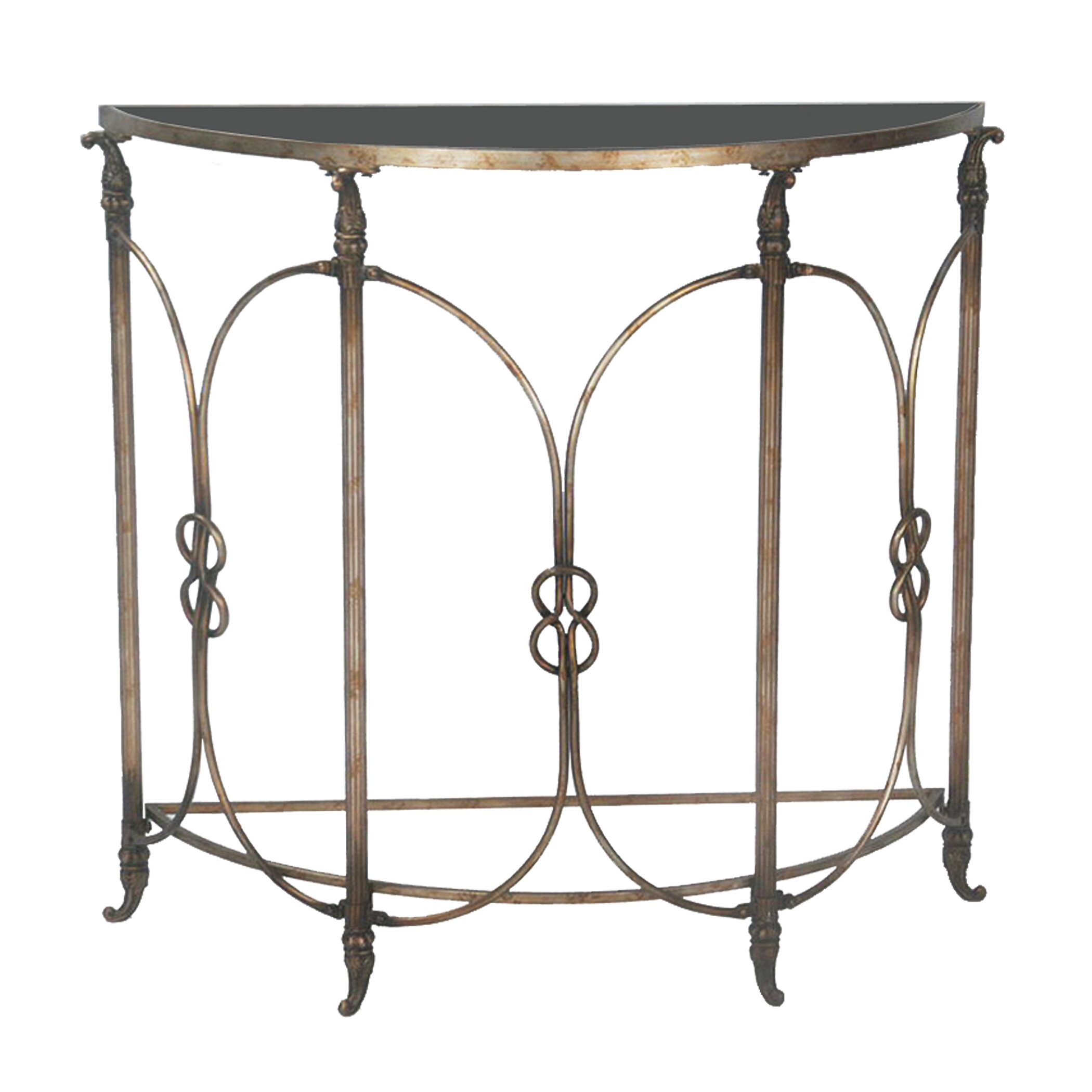 Bordeaux Demi Console Table Wayfair