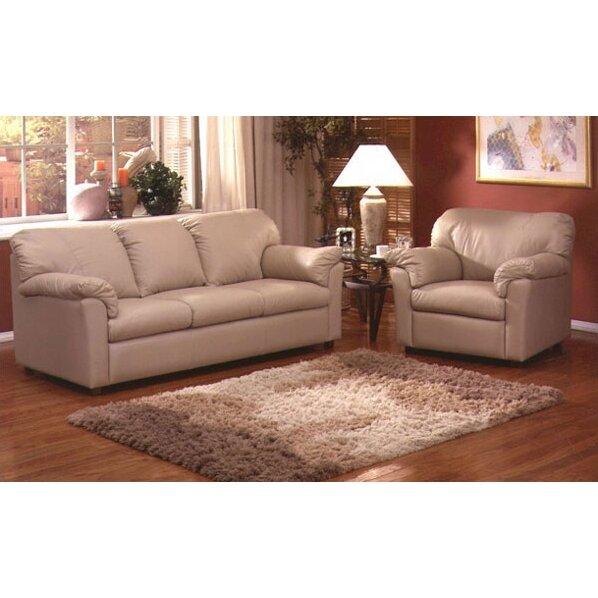 tahoe leather 3 seat sofa living room set wayfair