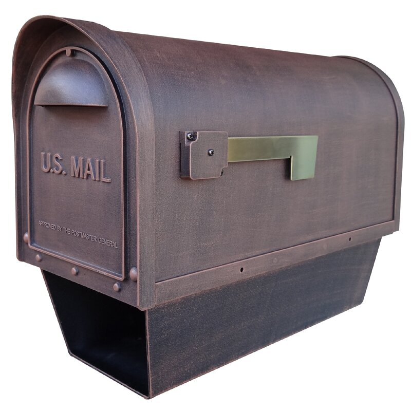 Special Lite Products Classic Post Mounted Mailbox With