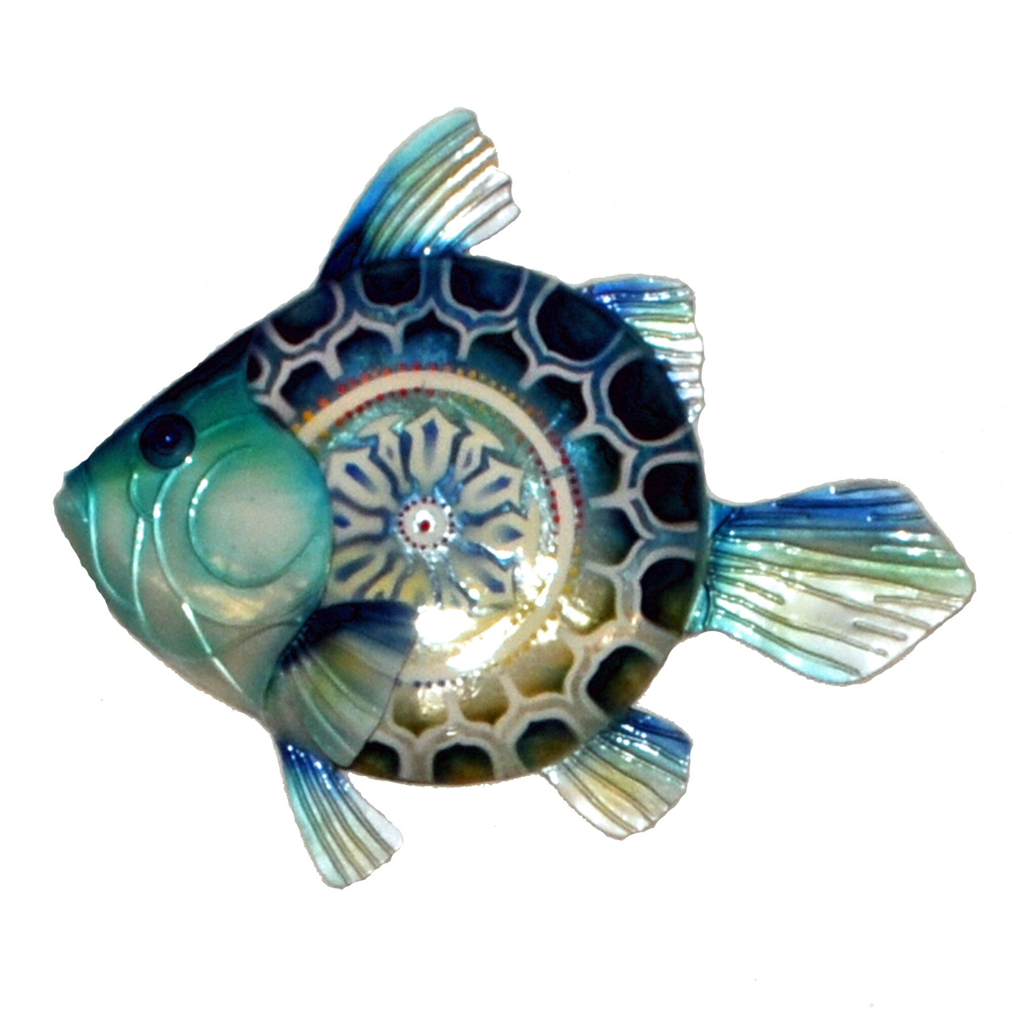 Fish wall decor wayfair for Fish wall decor