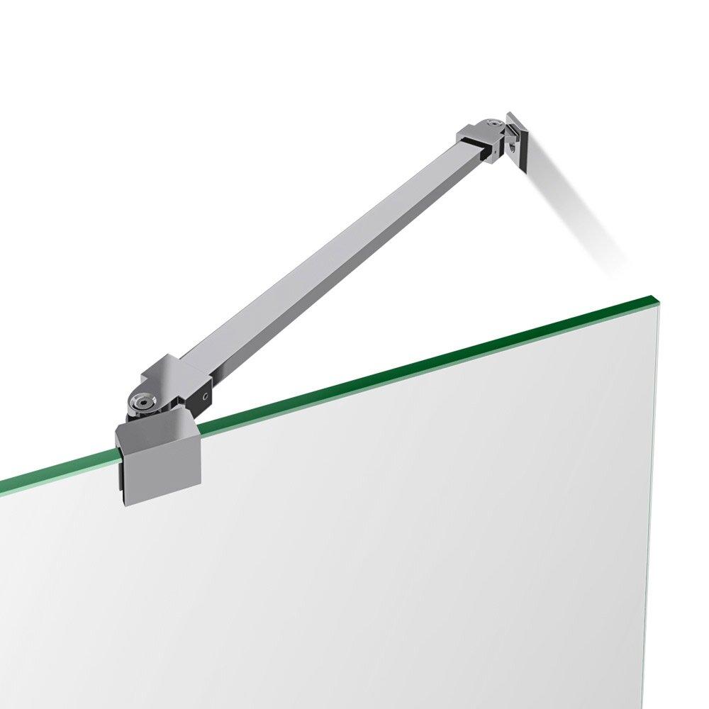 Dreamline Aqualux 58 Quot X 48 Quot Pivot Frameless Hinged Tub