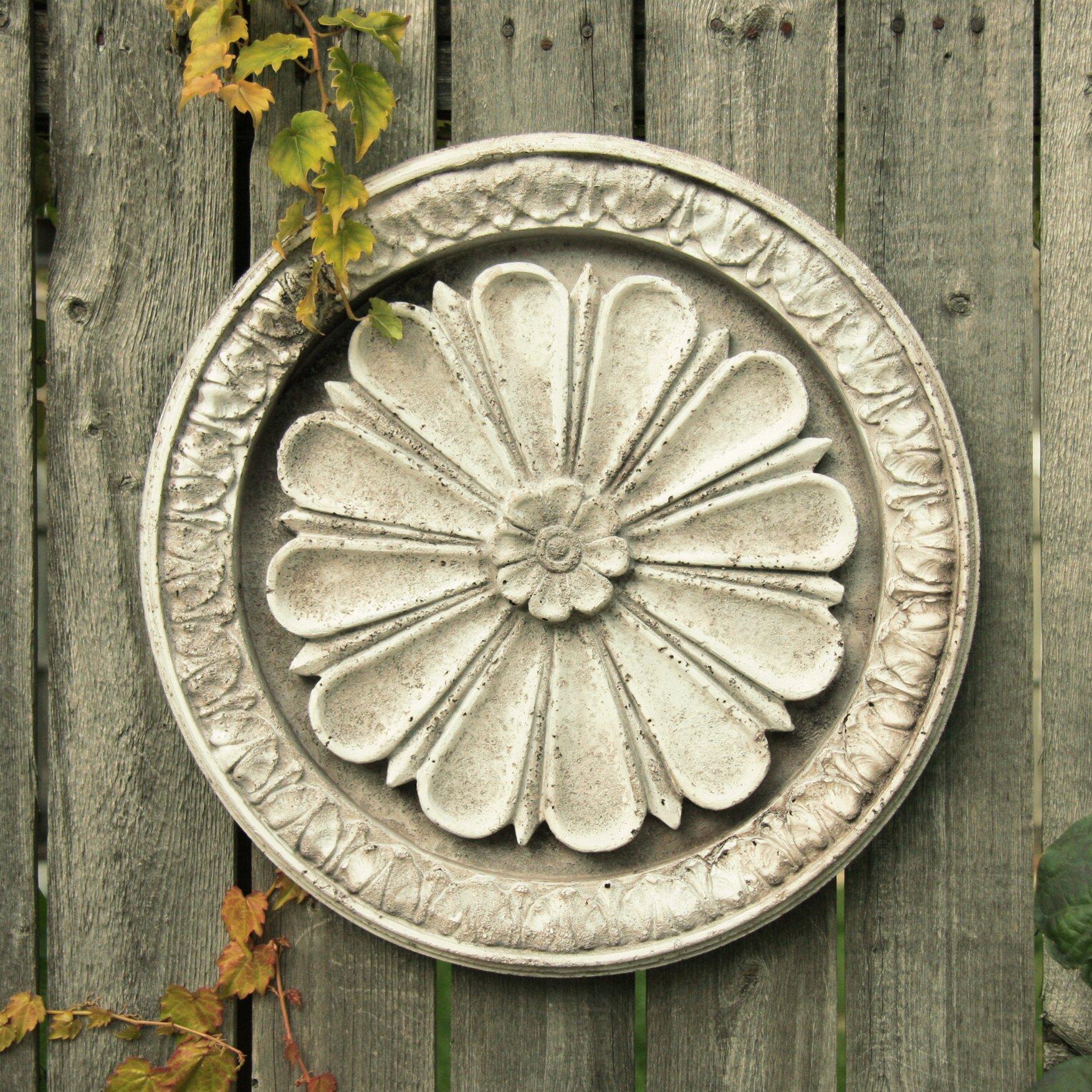 OrlandiStatuary Abbott Medallion Wall Decor & Reviews