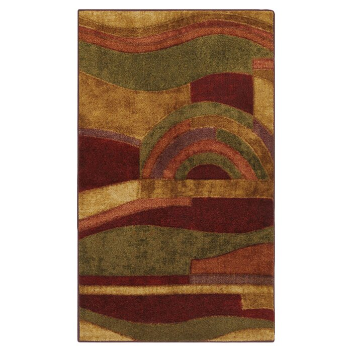 Mohawk Home New Wave Picasso Wine Area Rug & Reviews