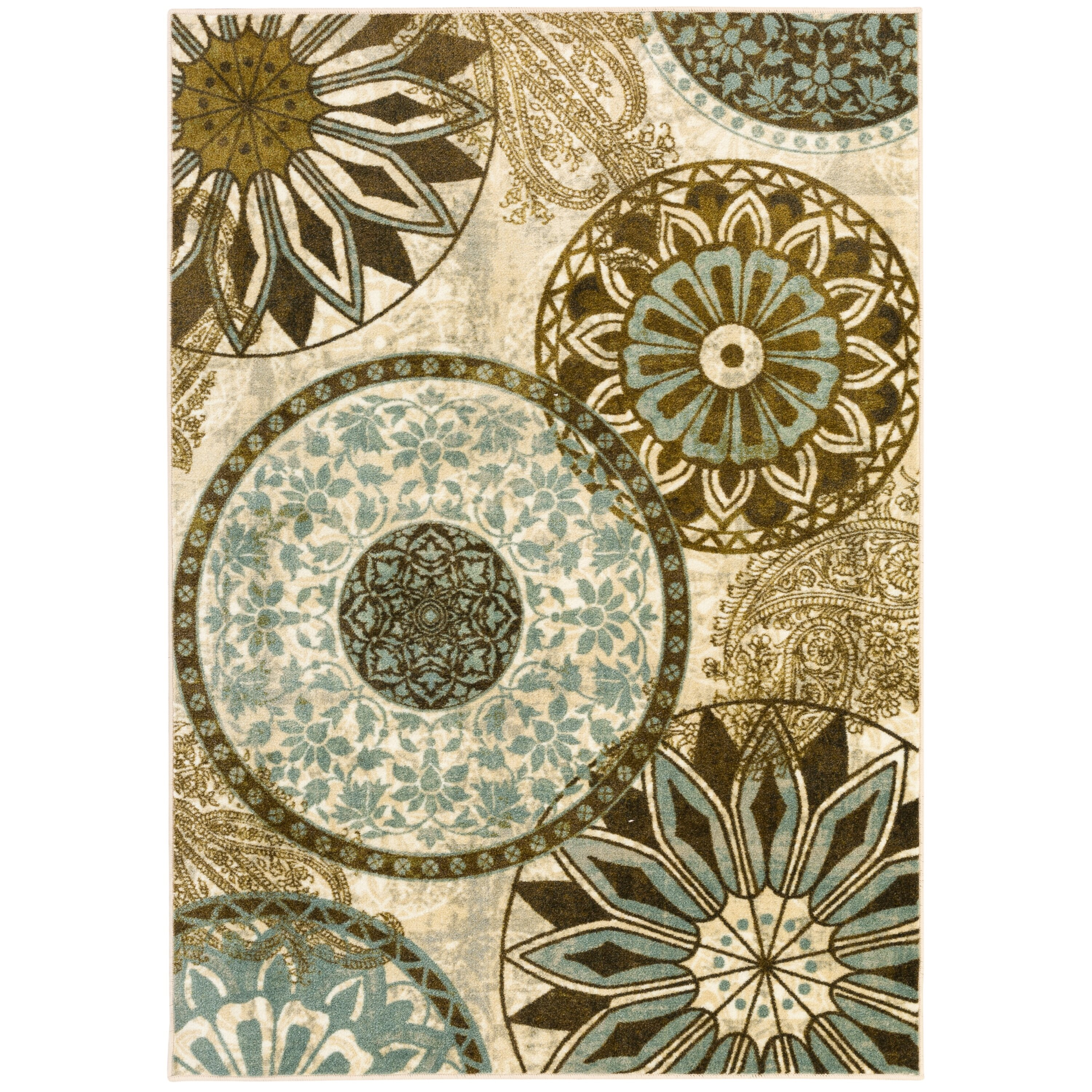 Area Rugs From India: Mohawk Home New Wave Inspired India Printed Area Rug