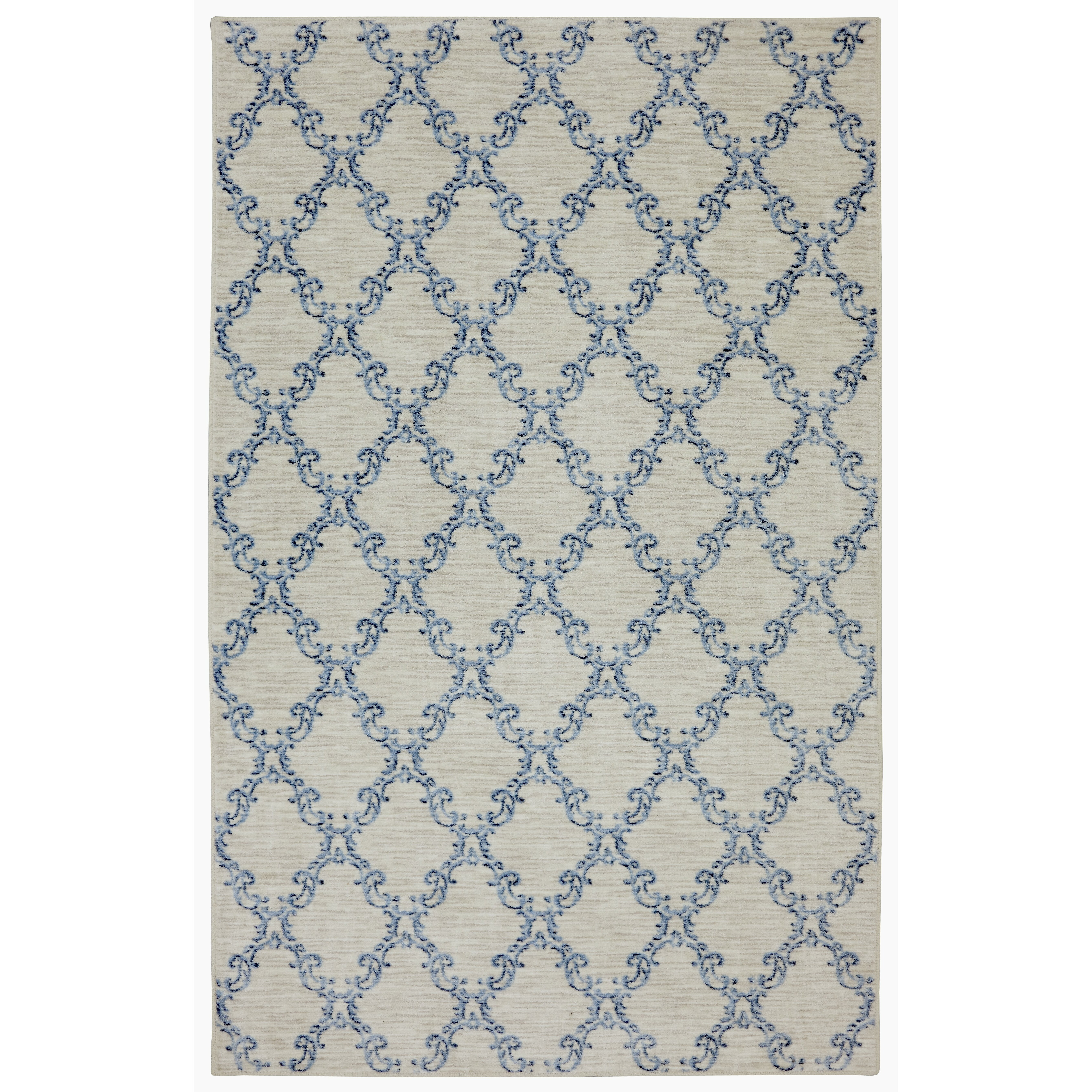 Mohawk Home Naples Mirabel Gray & Blue Area Rug & Reviews