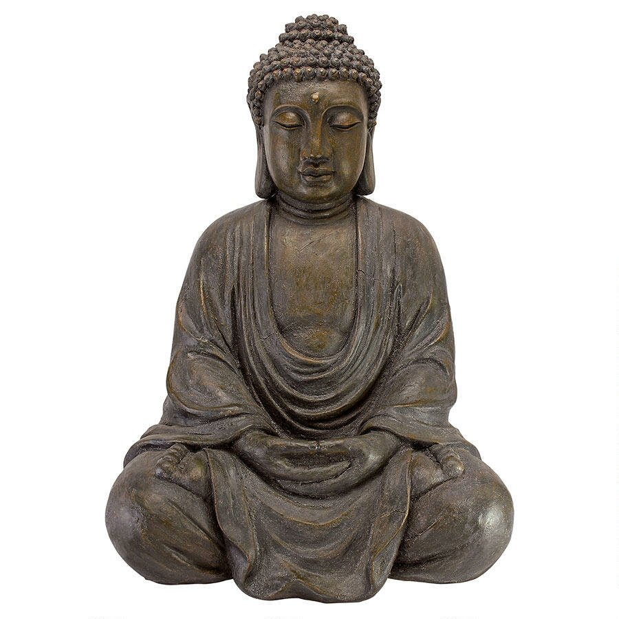 Buddha Statues For The Garden: Meditative Buddha Of The Grand Temple Garden Statue