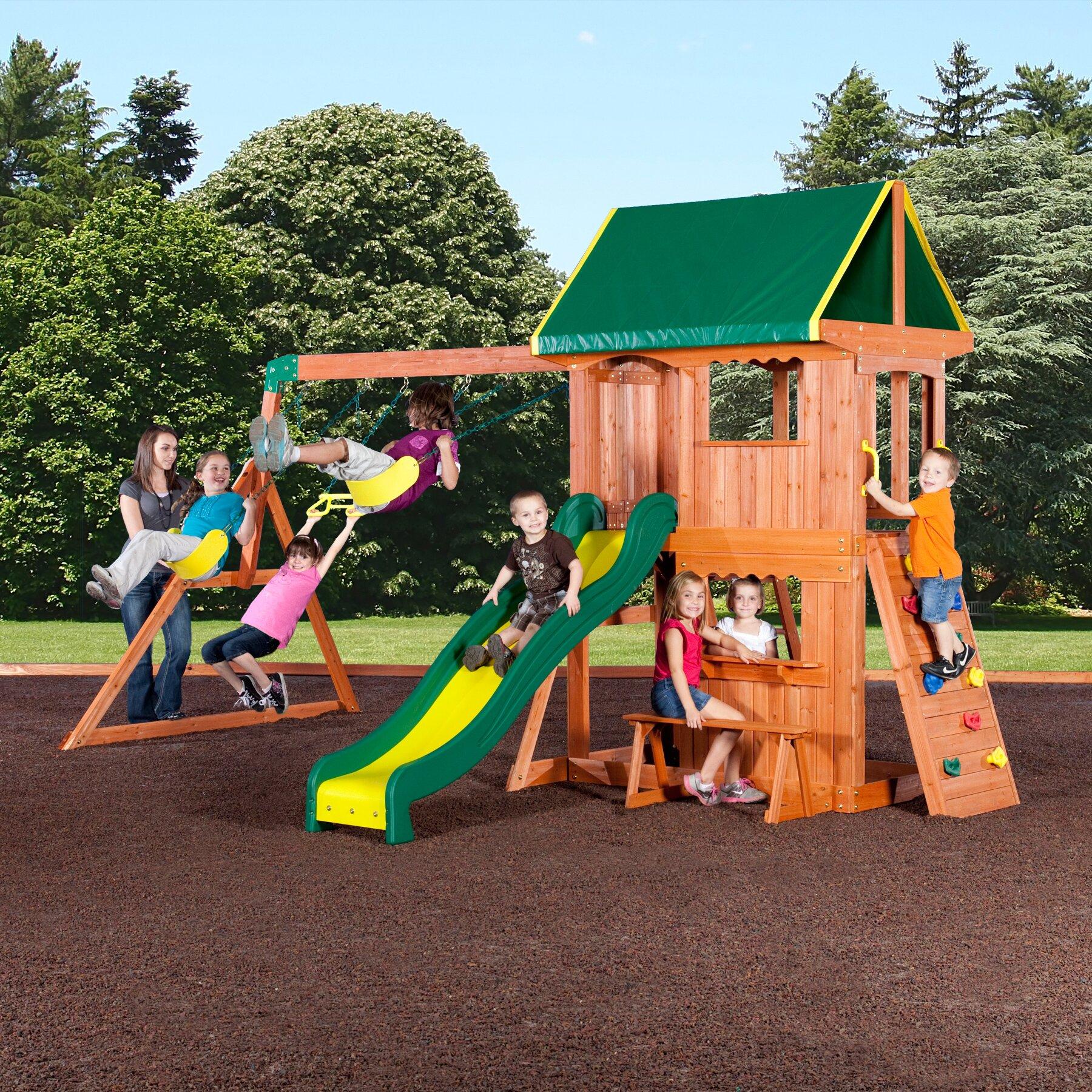 baby kids backyard play wood swing sets backyard discovery sku