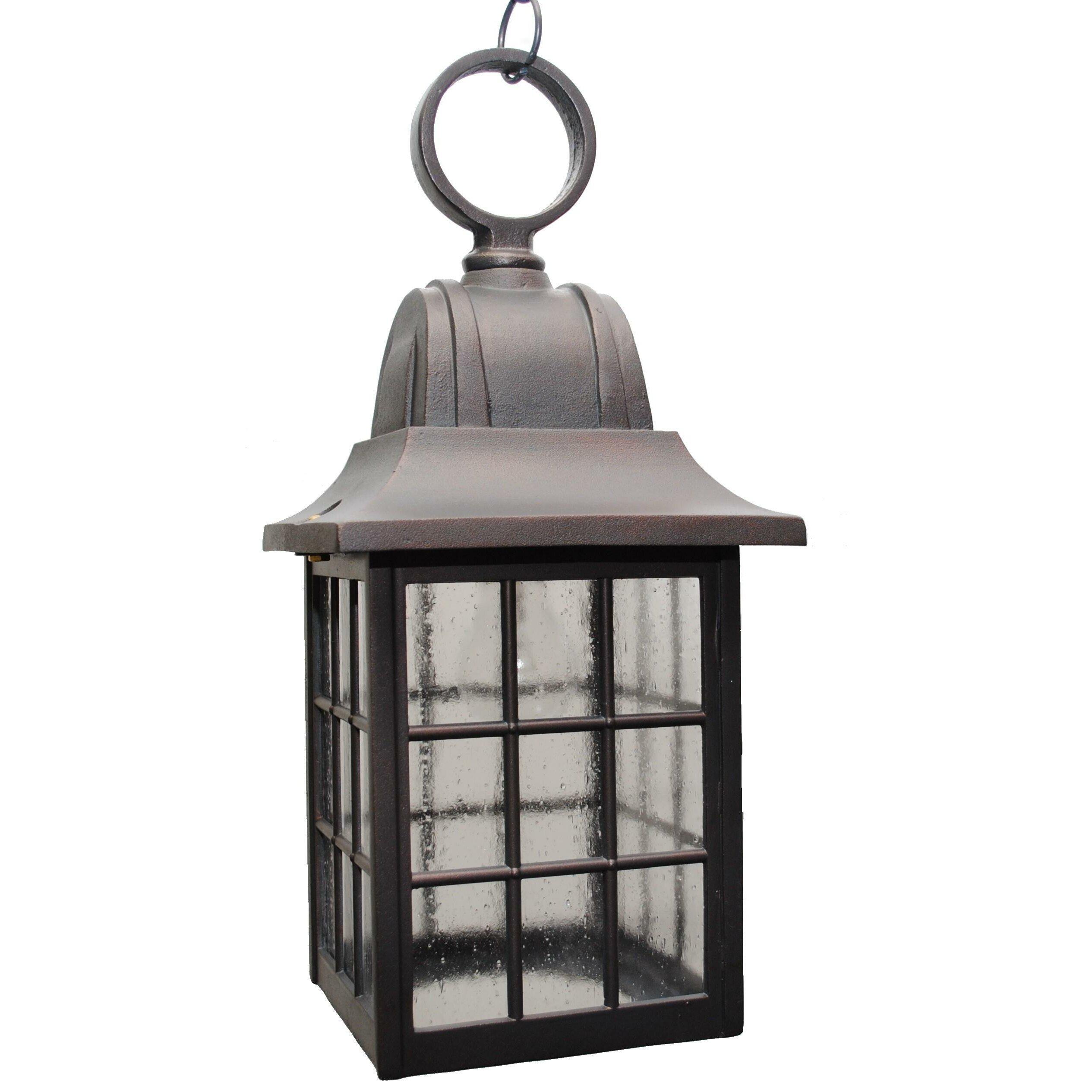 Wayfair Outdoor Hanging Lights: 600 Series 1 Light Outdoor Hanging Lantern