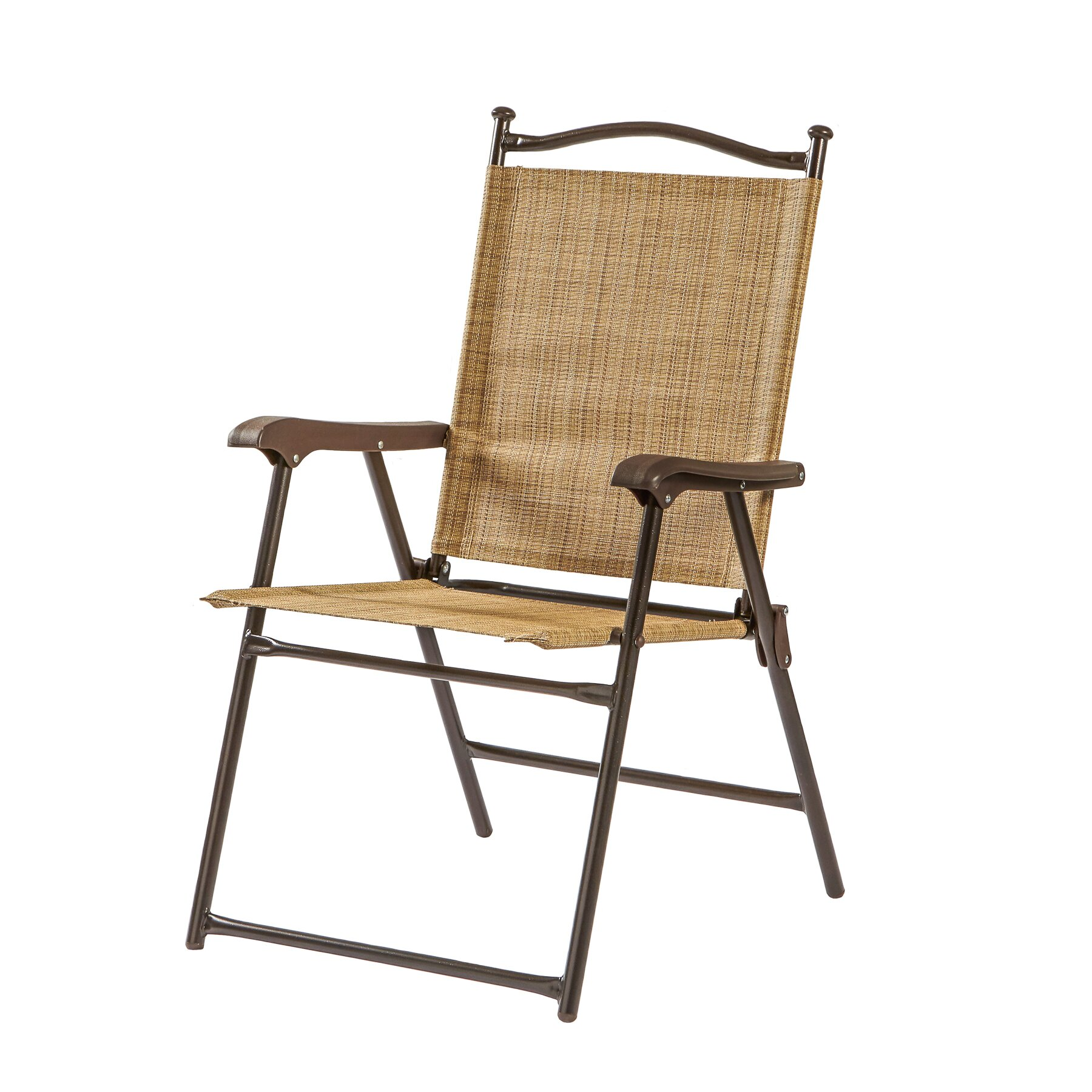 Greendale Home Fashions Sling Back Outdoor Chair & Reviews ...