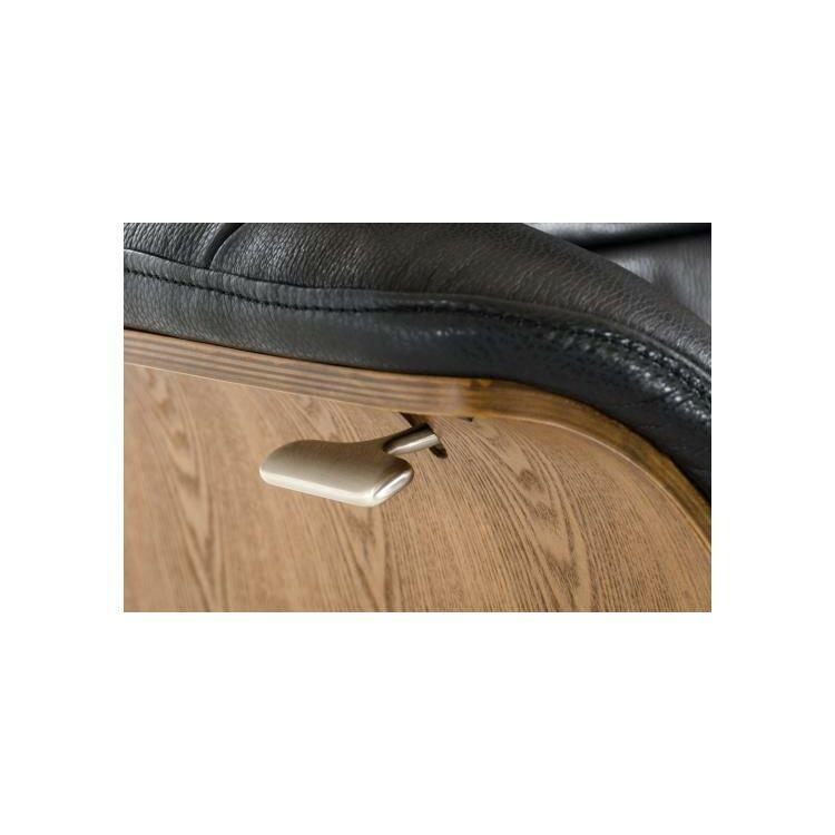 Vig furniture divani casa charles modern leather recliner for Divani recliner