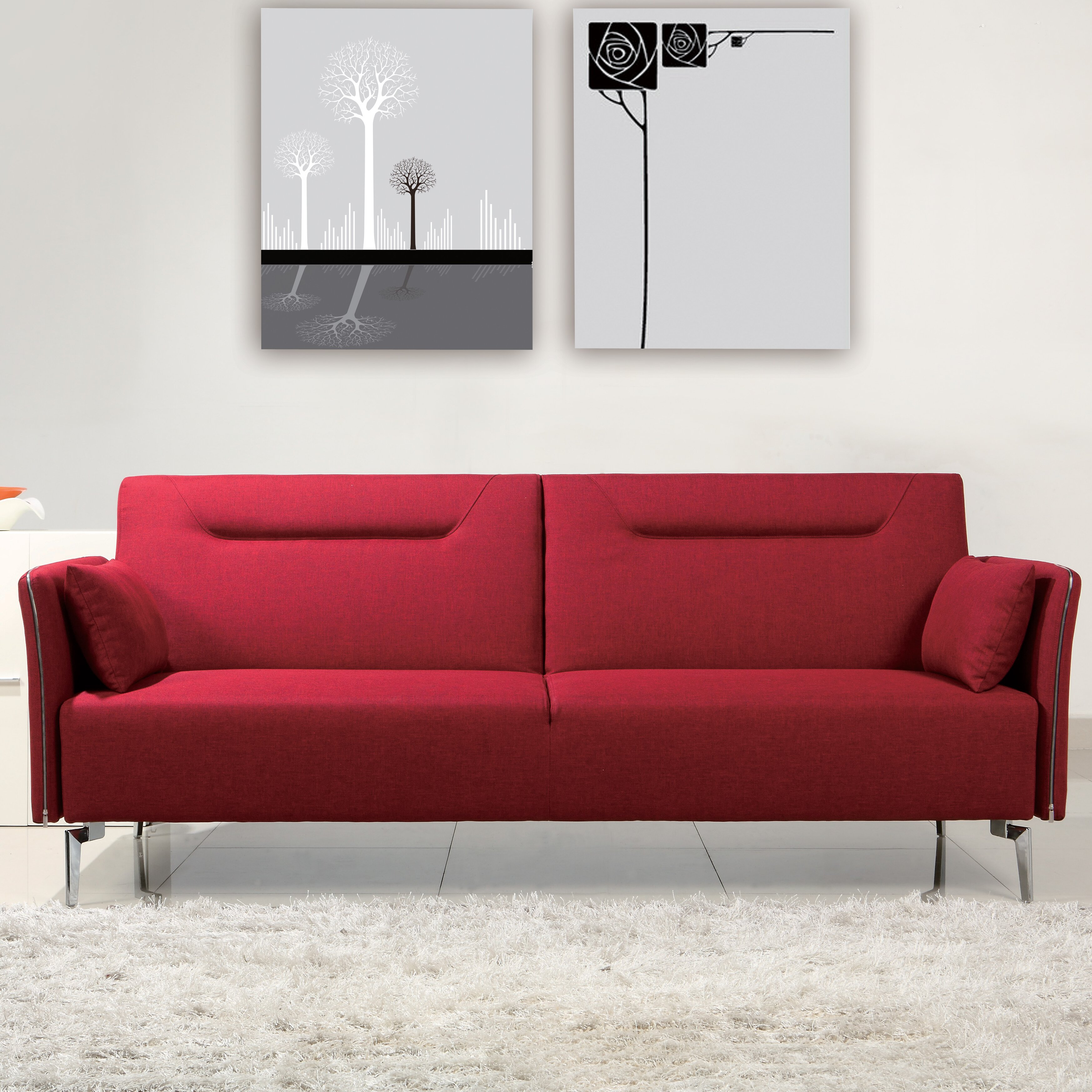 VIG Furniture Divani Casa Davenport Modern Sleeper Sofa