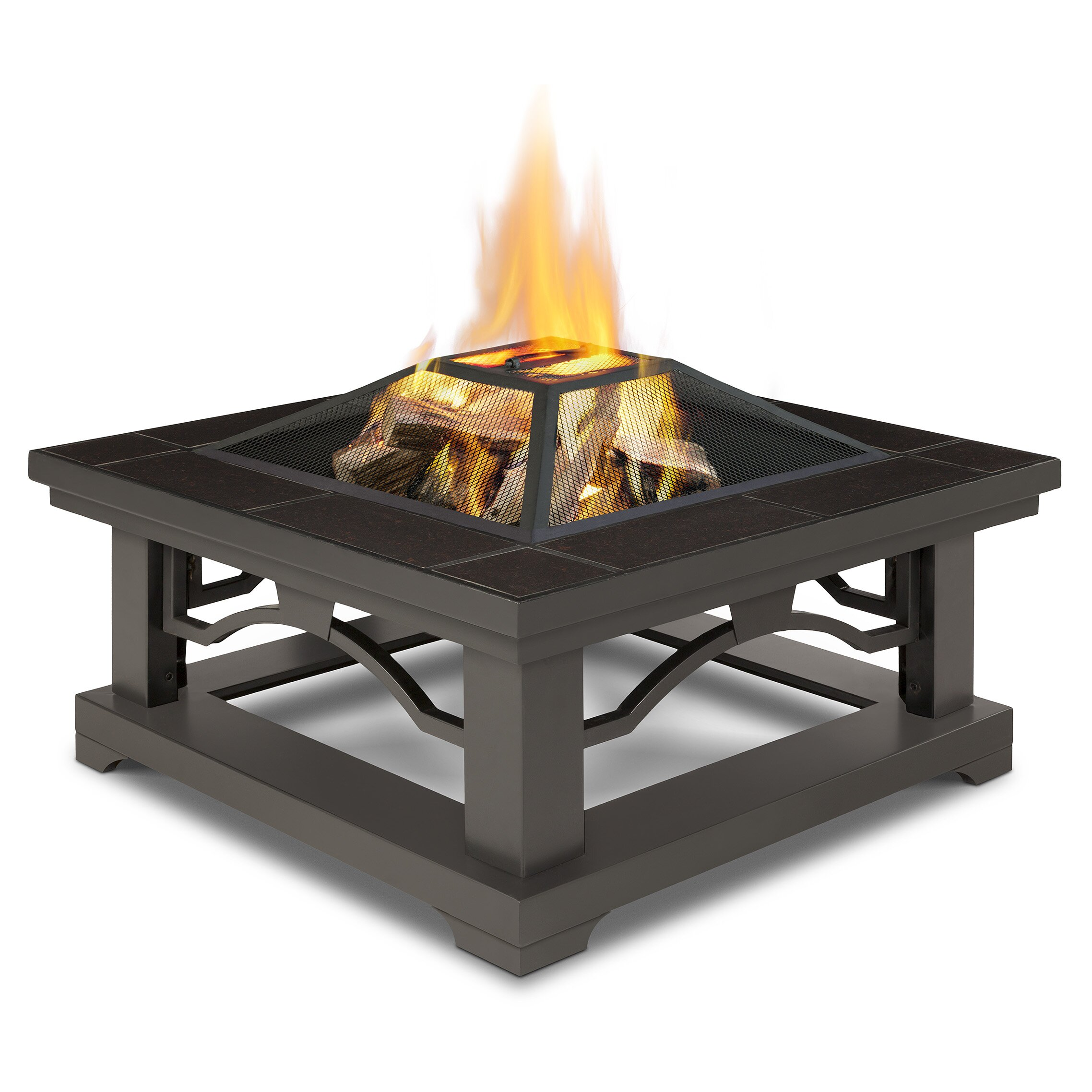 Real Flame Crestone Wood Burning Fire Pit Reviews Wayfair