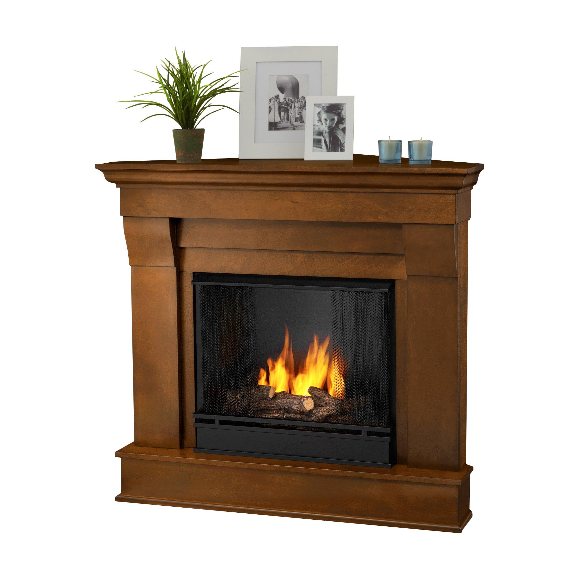 Chateau corner gel fireplace wayfair supply for Wayfair gel fireplace