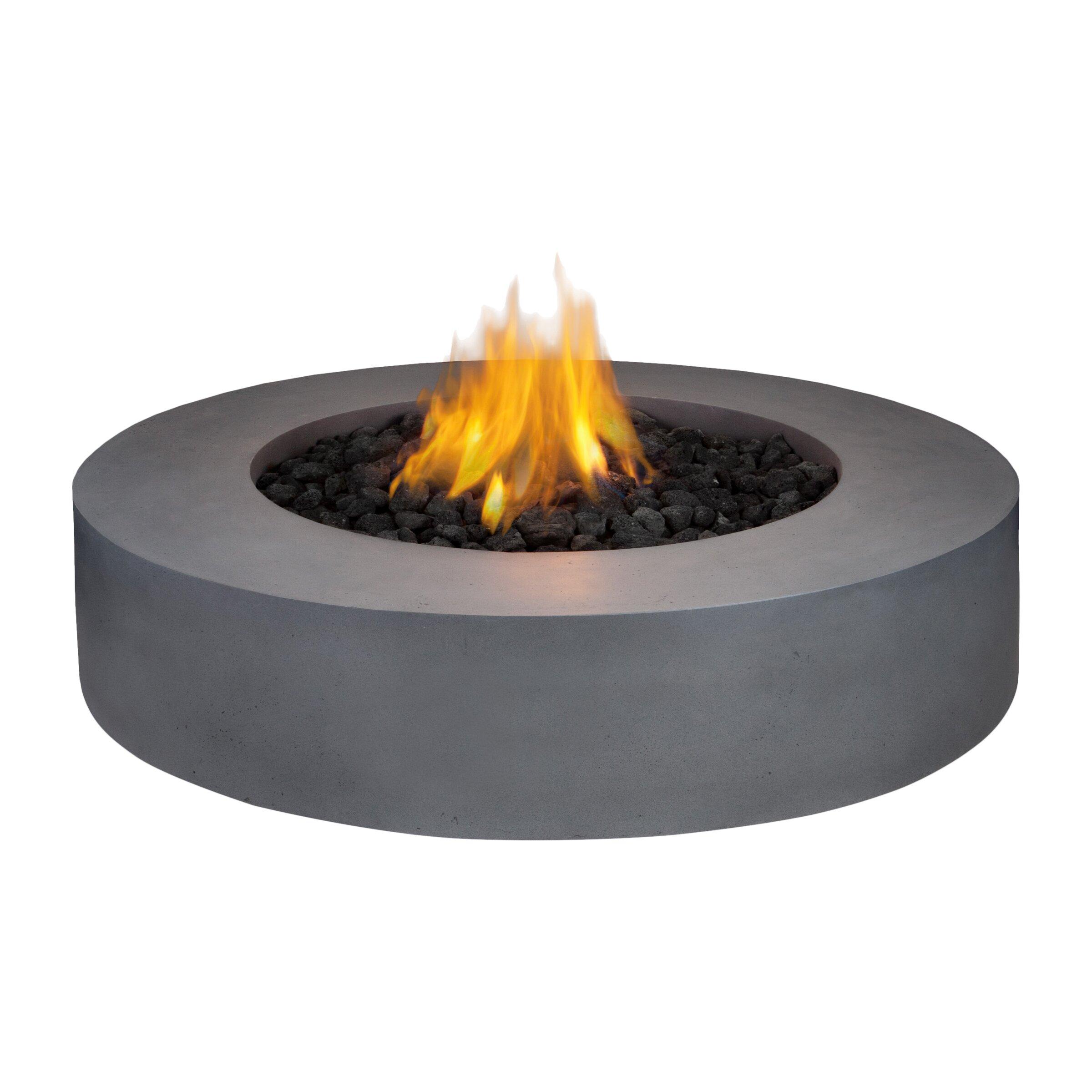 Propane Fire Pit : Real flame mezzo propane fire pit table reviews wayfair