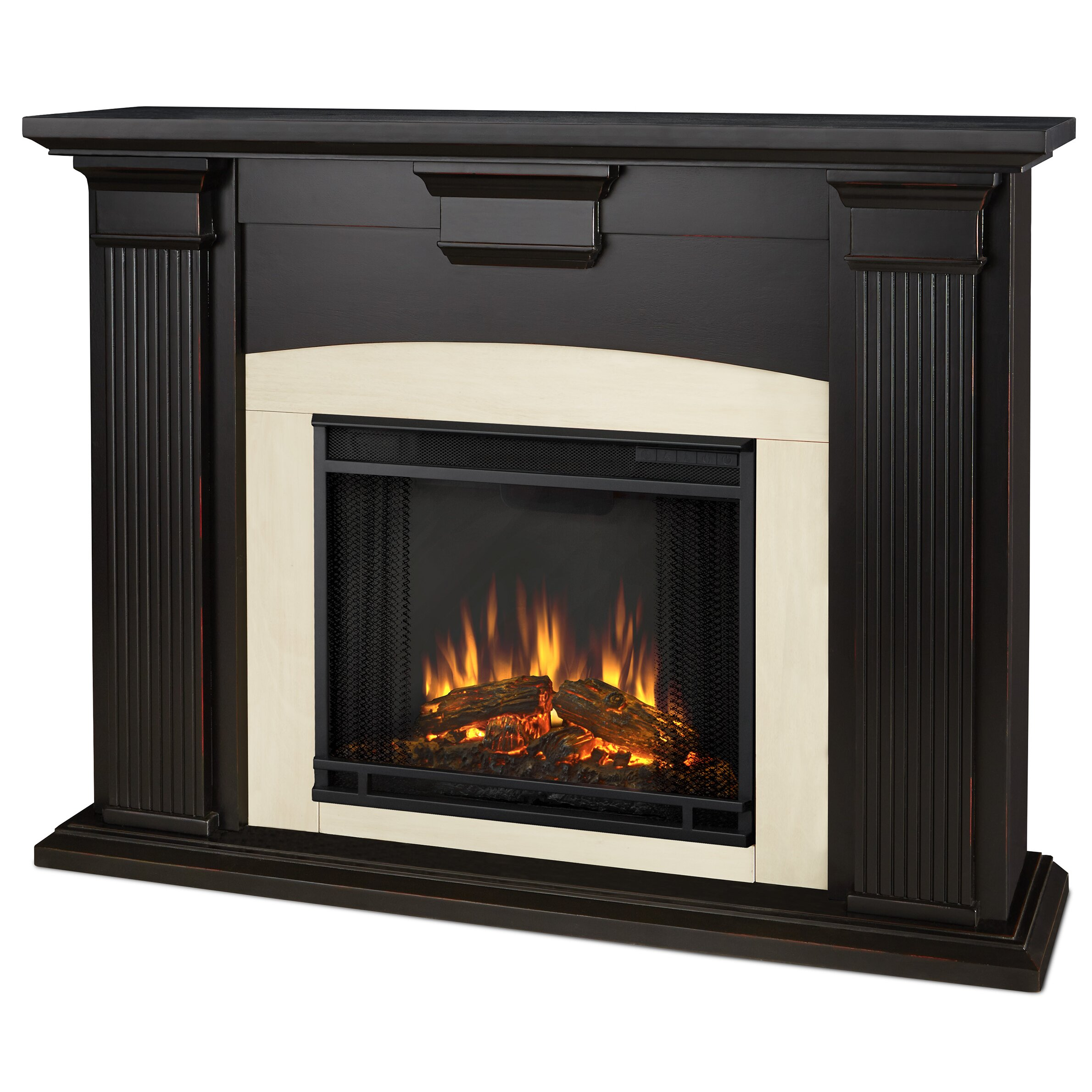 Real Flame Adelaide Electric Fireplace Reviews Wayfair