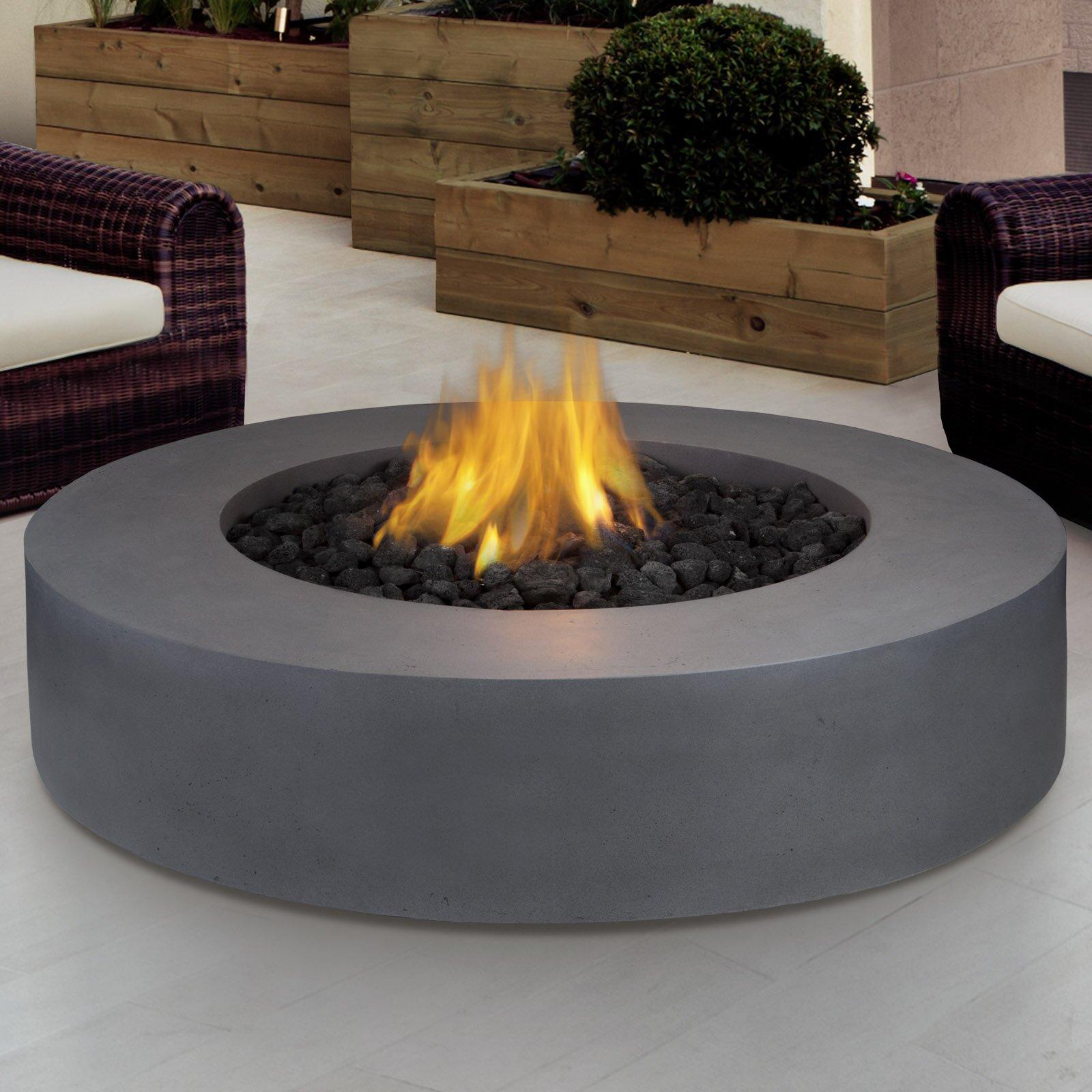 Real Flame Mezzo Propane Fire Pit Table Amp Reviews Wayfair