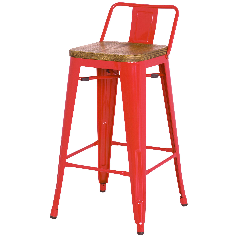 new pacific direct metropolis 26 bar stool reviews wayfair. Black Bedroom Furniture Sets. Home Design Ideas