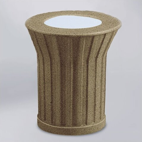 Rubbermaid Commercial Products Keystone Concrete Sand Top