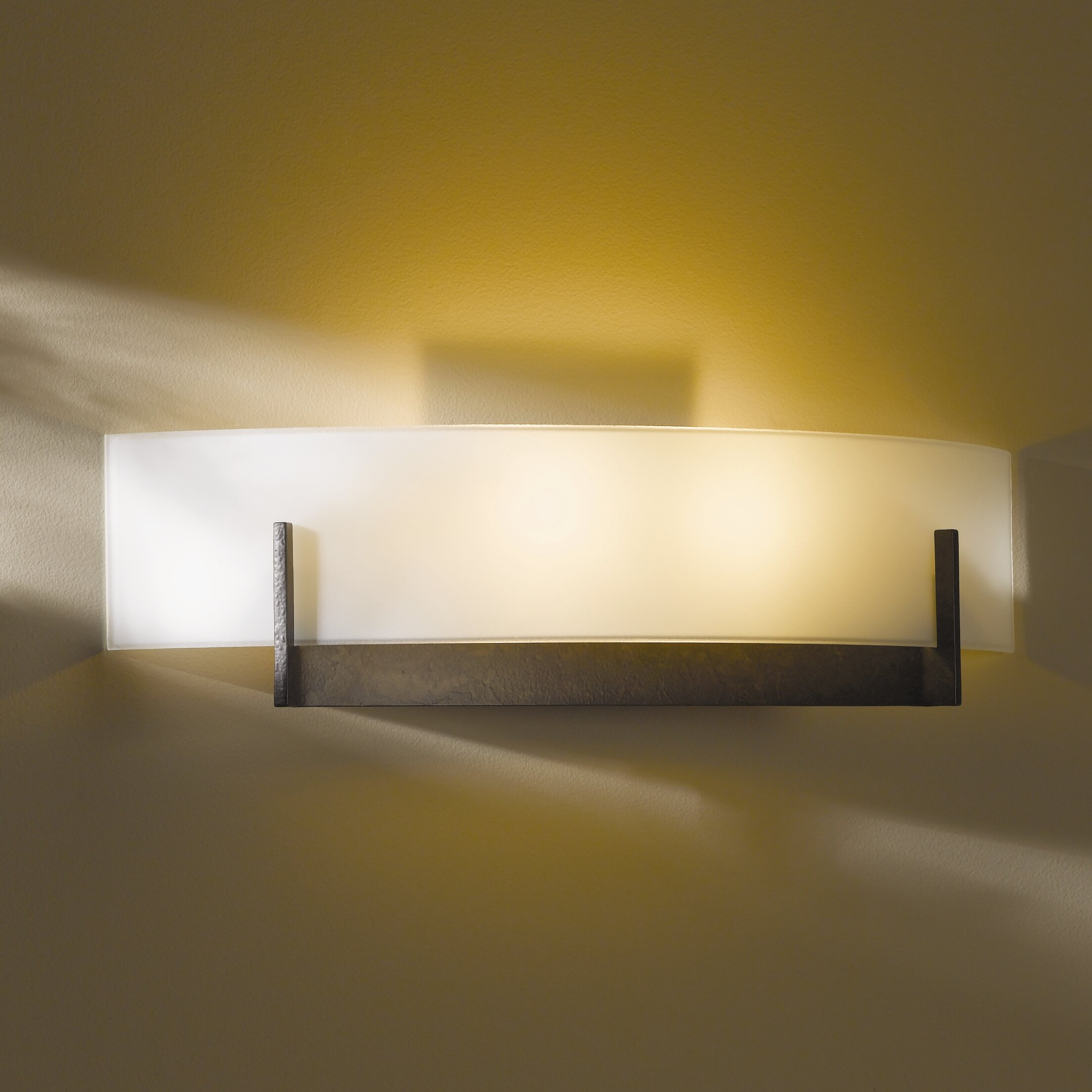 Hubbardton Forge Wall Lights: Hubbardton Forge Axis 2 Light Wall Sconce
