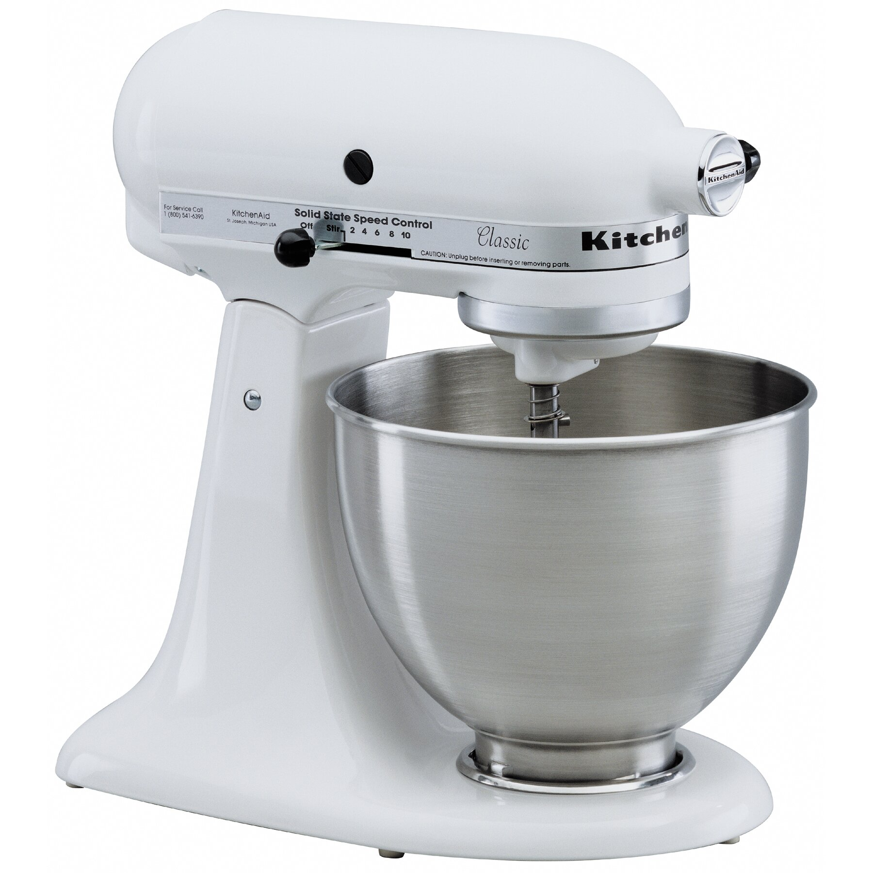 Kitchen Mixers For Sale: KitchenAid Classic Series 4.5 Qt. Stand Mixer & Reviews