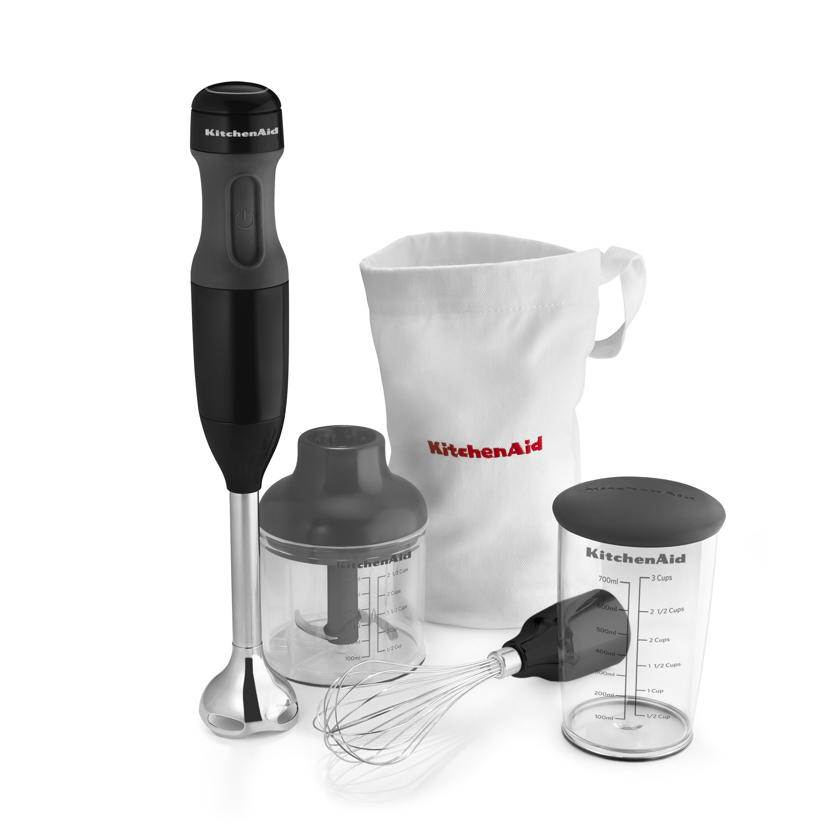 kitchenaid 3 speed immersion 6 piece blender set reviews. Black Bedroom Furniture Sets. Home Design Ideas