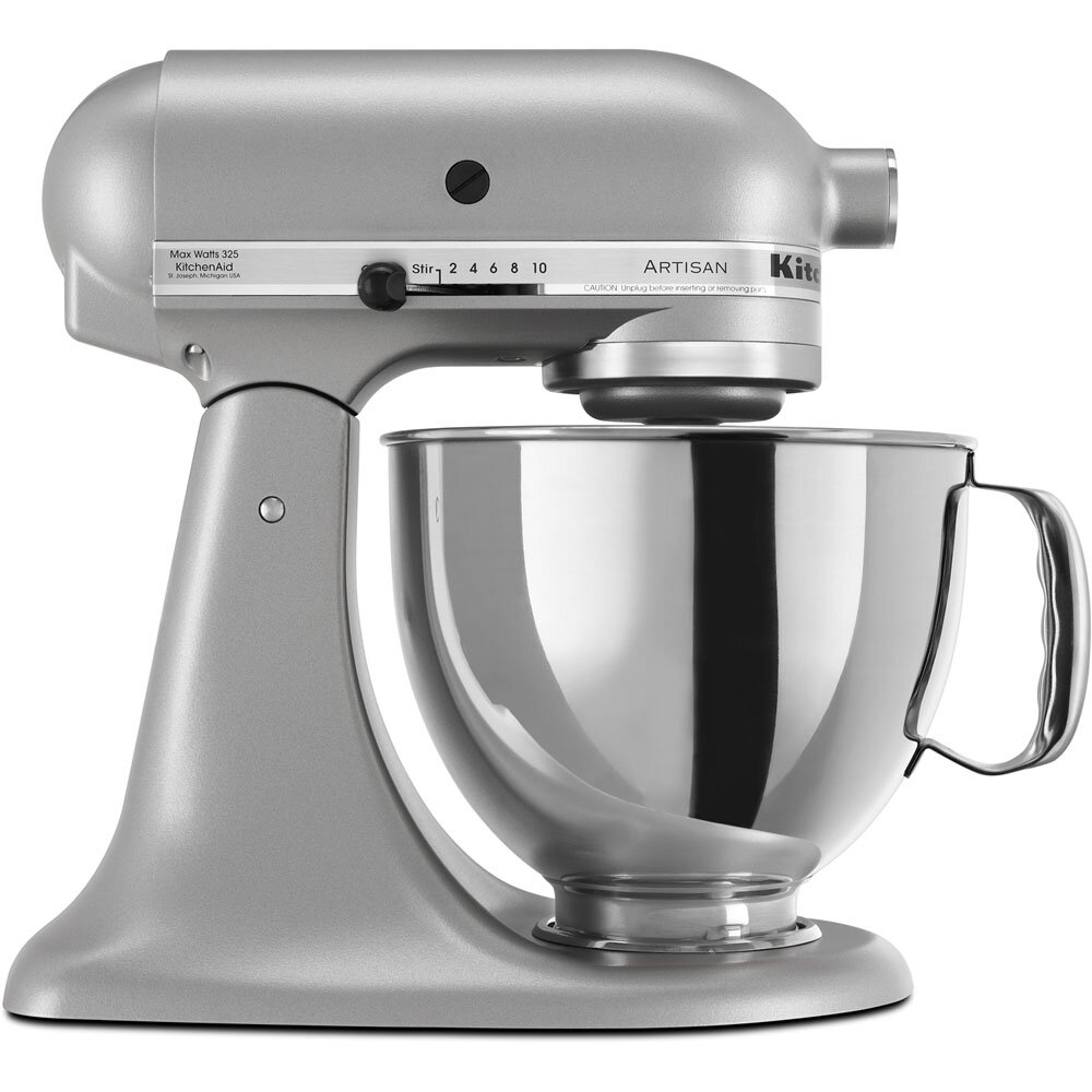 kitchenaid artisan series 5 qt stand mixer with pouring shield wayfair. Black Bedroom Furniture Sets. Home Design Ideas