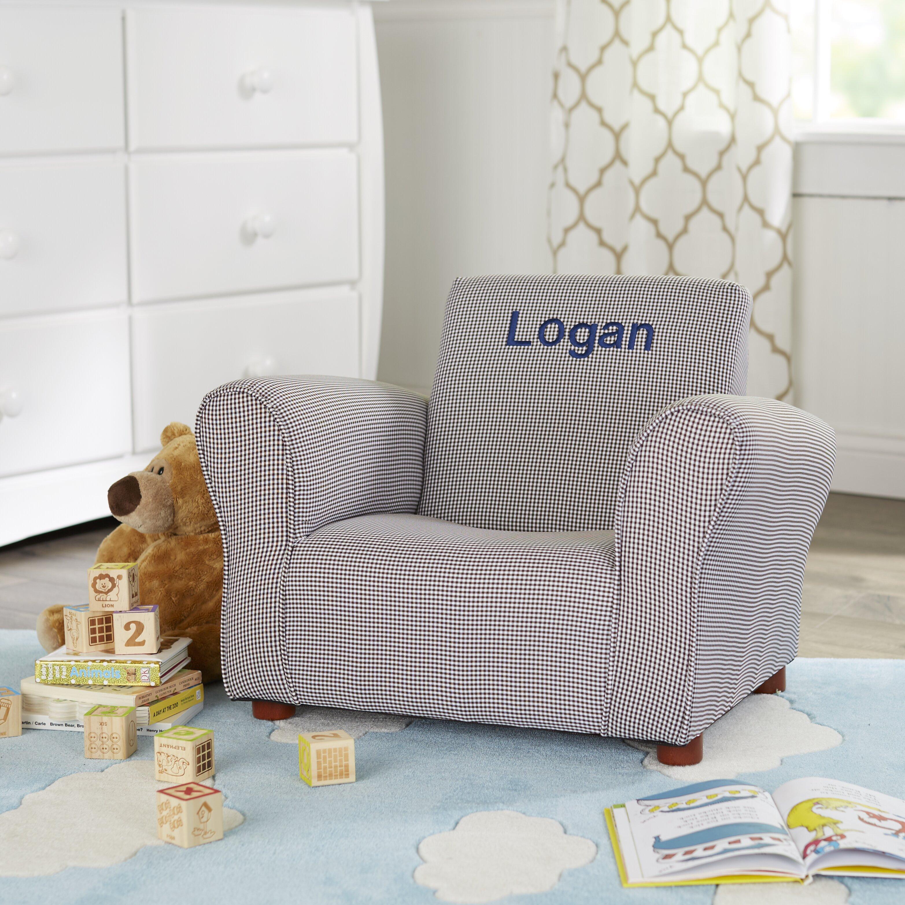 Little Furniture Personalized Kids Club Chair Wayfair